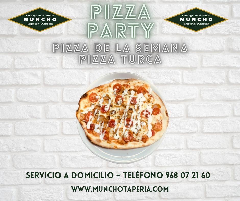 ¡La nueva pizza de la semana en MunchoTapería!