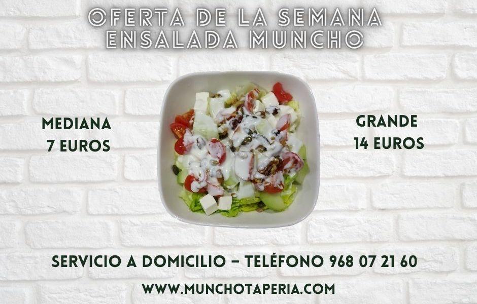Oferta de la semana en Muncho Taperia: Ensalada Muncho