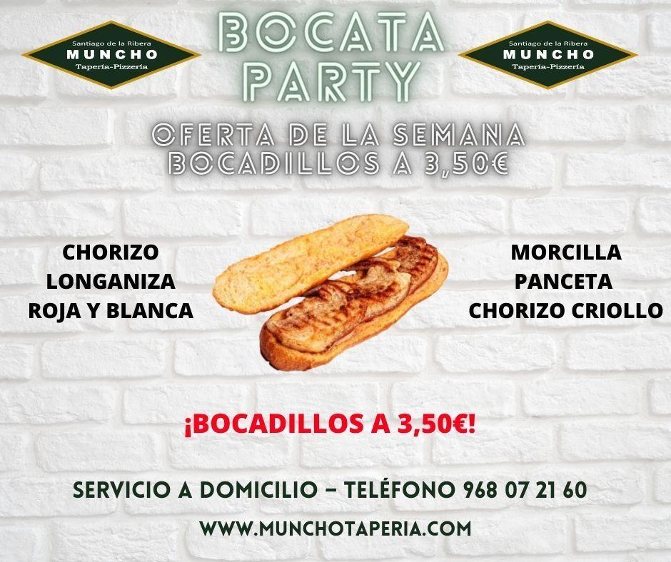 Semana del bocadillo en Muncho Tapería