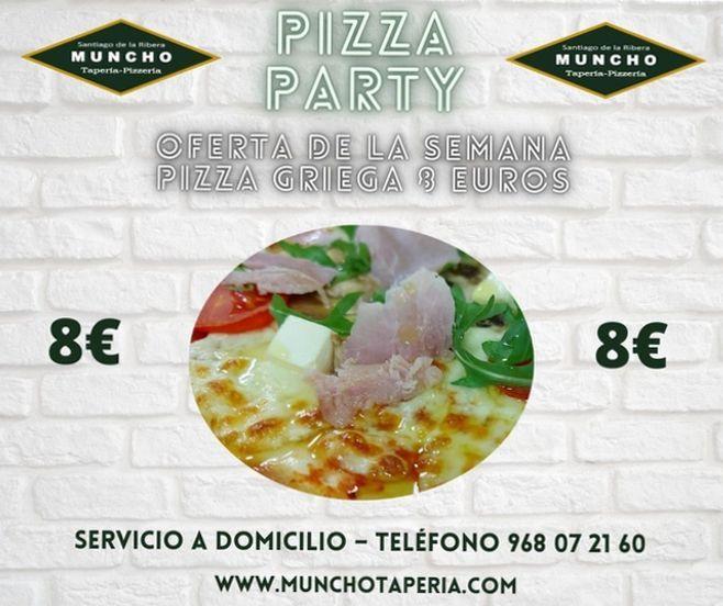 Oferta de la semana Pizza Griega
